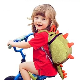 Wholesale 3d Animal Backpacks - 3D Dinosaur School Bags Animal Schoolbag Baby Boys Girls Fashion Children Backpack Shoulder Kids Book Bags