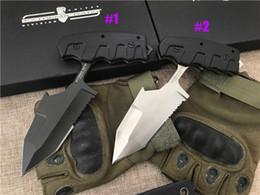 Cuchillos tácticos D2 Tanto Blade Black G10 Mango de supervivencia de alta calidad al aire libre Cuchillos fijos con Kydex desde fabricantes