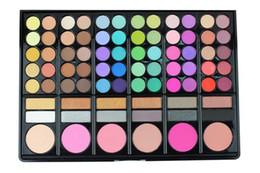 Wholesale eyeshadow makeup palette 78 - Eyeshadow palette makeup eye shadow 78 Colors earth color lady nude 3 styles eyeshadow palette eye shadow powder palette