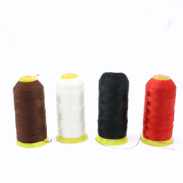 Wholesale Good Waxing - Hot Sale Good Quality 300D High Tenacity Sewing Thread Waxed Polyester Embroidery Sewing Thread 900m ZYL0009