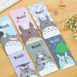 Wholesale Global Supplies - Wholesale-5pcs pack  New Japan Cartoon My Neighbor cat series paper Envelope office school supplies HY Global Wholesale