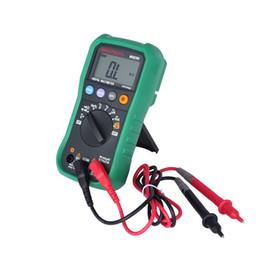Wholesale portable multimeter - Digital Multimeter MASTECH MS8239C Backlight LCD Display AC DC Portable Handhold Electronic Multimeter Tester auto range