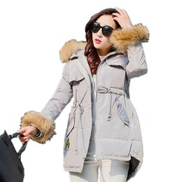 Wholesale Duck Collection - 2017 Warm Woman Down Parka with Faux Fur Collar Winter Coat New Winter Collection Women Down Coat Jacket Women CT006