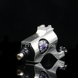 Wholesale Tattoos Machine Sale - Wholesale-2016 Hot Sales New Rotary Tattoo Machine Bishop Style Professional Sliver Color Tattoo Machine For Liner & Shader Free Shipping