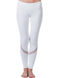 Wholesale Tight Leggings For Women - Wholesale Yoga Sports Leggings For Women Sports Tight Mesh Yoga Leggings Comprehension Sportswear Pants Women Running Tights