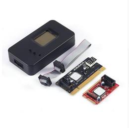 Wholesale Diagnostic Test Pc - New product hot sale cheap quality wholesale Post Card PCI-E PC PCI Diagnostic Test PC Tester Debug Card Host For Laptop Desktop