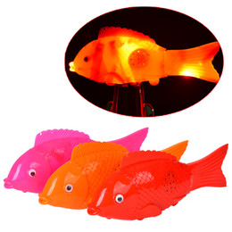 Wholesale Battery Swing - General electric lighting electric fish manufacturers flash music swing fish stall selling toys