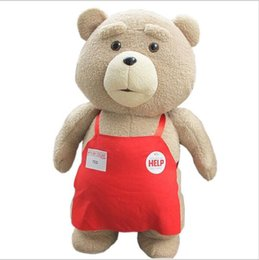 Wholesale Ted Plush Doll - Big Size 46 cm Original Teddy Bear Stuffed Plush Animals Ted 2 Plush Soft Doll Baby Birthday Gift Kids Toys