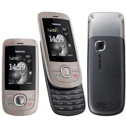 Wholesale Wholesale Mp3 Player Screen - Refurbished Original Nokia 2220S 2220 Slide Unlocked GSM Mobile Phone 1.8 inch Screen Mp3 Player Free DHL 10pcs