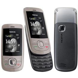 Wholesale Sliding Phones - Refurbished Original Nokia 2220S 2220 Slide Unlocked GSM Mobile Phone 1.8 inch Screen Mp3 Player Free DHL 10pcs