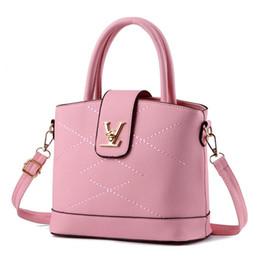 Wholesale Spandex Polyester Fabric - 2017 Fashion New Handbag Pu Single Shoulder Bag Women's Personality Zipper Backpacks Designer Handbags Shoulder Bags for Women Handbag