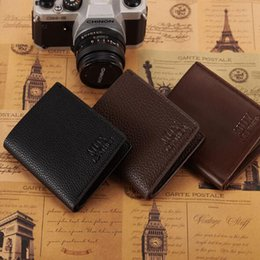 Wholesale Men Leather Travel Wallet - Multiple Layers Wallets PU Business Imitation Men's Wallets Fine Bifold Brown Black PU Leather Credit Card Wallet Travel Wallet For Men