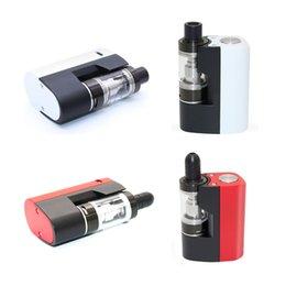 Wholesale Electronique Cigarettes - Original Box Mod Kit Vapesoon Ilove 40W 1100mAh Ecig Sub ohm 0.5ohm VS rx200s Electronic Cigarette Electronique Starter Kit