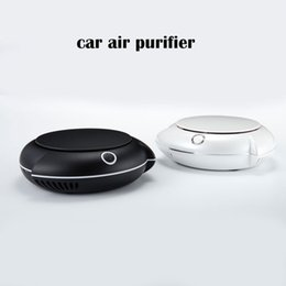 Wholesale Home Air Purifier Hepa - New design Air Purifier for home & Car True HEPA and activated carbon filter Home & Car Negative Ion Purifier