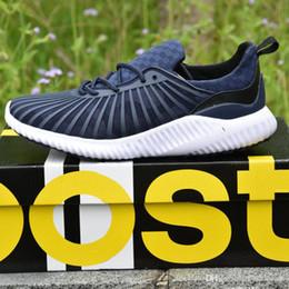 Wholesale Rubber Bounce Shoes - 2017 New Fashion Cheap Alpha 2 Bounce Cushioning Running Shoes Men Women Kanye West Basketball Shoes Sneaker Sports Shoes EUR 36-45