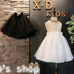 Wholesale Christmas Blouses - Girls lace tull Tutu Skirts New Children Summer Korean Clothes Kids Ball Gown Skirt Toddler baby Party Dress Infant Miniskirt Clothing A344
