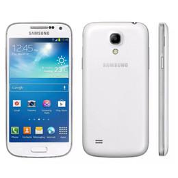 Wholesale nfc s4 - Original Samsung Galaxy S4 Mini I9195 NFC Wifi Gps 8mp Camera 4.3'' Unlocked Refurbished Mobile Phone