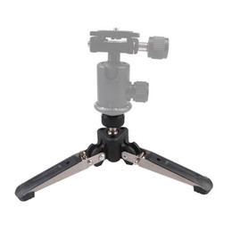 Wholesale Dslr Screw - Newest Universal Three Feet Monopod Support Stand Base For Dslr Camera 1 4 Screw Rotatable 360 Angle Portable Tripod For Camera