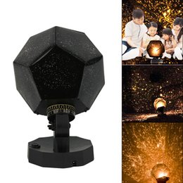 Wholesale Sky Night Lights - Star Sky Projection Lamp Projector Night Light Celestial Star Astro Sky Projection Romantic Bedroom Decoration Lighting Gadget