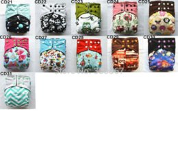 Wholesale Double Gussets - Sigzagor]Charcoal Bamboo Baby Cloth Diaper Nappy Washable Reusable,Double Gusset,Square Tabs,NO INSERT 31 Choice,3-15kg 8-36lbs wholesale...