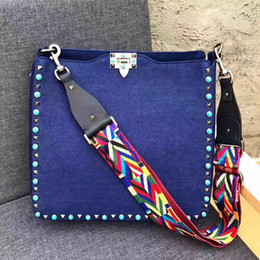 Wholesale Fringes Bag - bags handbags women famous brands Embroidered bag fringe crossbody shoulder strap bag luxury designer leather top-handle bags