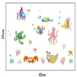 Toptan-Aydınlık Karikatür Deniz Hayvanlar Duvar Kağıdı Glow Karanlık Floresan PVC Duvar Ev Odası Duvar Kağıtları Ücretsiz Kargo DG624 nereden