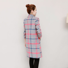 Wholesale Thick Winter Quilts - 2017 Women Autumn Winter Coats Jackets Thick Long Poncho Coats Belt Oversized High Quality Winter Quilt Long Coat Manteau Femme