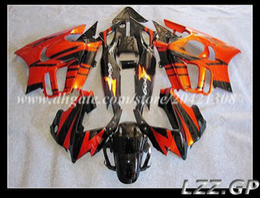 Wholesale Orange Honda F3 - fairings+gifts for Honda CBR600 F3 1997 1998 CBR600F3 1997-1998 CBR600 F3 97-98 fairing sets #5k2g2 Orange black