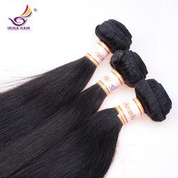 Wholesale Hair Weave Supplies - 2017 new arrival Wholesale Mink Virgin Brazilian Human Hair 5Bundles Cheap Peruvian Straight Hair Weaves Beauty Supplies Free Shipping