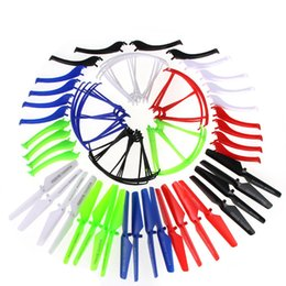 Wholesale Helicopter Gears - 12PCS Syma X5S X5SC X5SW Spare Parts Protectiver Gears & Base Stand & Mian Blades(5Colour)