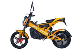 Wholesale Mini Racing Motorcycle - Hot Sale CE 48V 1500W Folding Mini Racing Scooter With Double Disc Brake Sports Electric Motorcycle