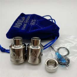Wholesale Titanium Ecig Mod - Ecig Atomizers Titanium 528 Goon RDA and 528 Lost Art Edition RDA Atomizers with Titanium Material 24mm Diameter Airflow Control Vape Mods