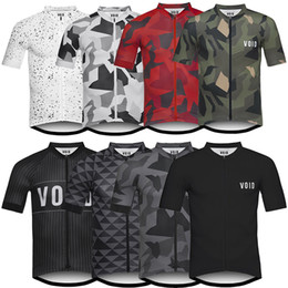 Wholesale Mtb Short Xl - VOID 2017 Cycling Tops Short Sleeves Cycling Jerseys Summer Style For Men Women MTB Ropa Ciclismo Quick Dry Compressed Bike Wear Size XS-4XL