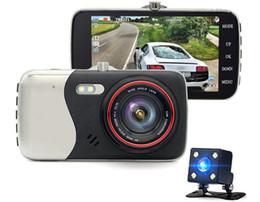 New Universal Car Camera 4 polegada 8 GB FHD Carro 1080 p Manual Do Carro câmera hd dvr com Lente Da Câmera Dupla de