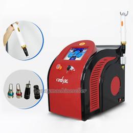 Wholesale Tattoo Laser Machine Yag Nd - ND-Yag laser picosure laser 532nm 1064nm 755nm pico laser  Picosecond laser tattoo removal machine spot acne removal machine