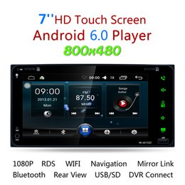 Wholesale Dashboard For Toyota Car - 7 Inch RDS Android 6.0 Bluetooth Car Radio Stereo Player Digital Touch Screen GPS Navigation Support Mirror Link for Toyota CMO_21V