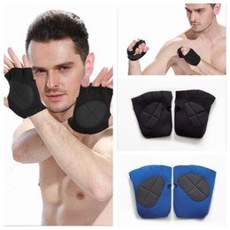 Wholesale Gym Fitness Gloves Wholesale - 1Pair Multifunction Sports Gloves Gym Weight Lifting Fitness Exercise Training Gym Gloves 2 Colors 300 PCS YYA359