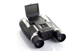 Wholesale Protax Hd - Wholesale-Professional 12x32 HD Binocular Telescope digital camera 5 MP digital camera 2.0'' TFT display full hd 1080p telescope camera