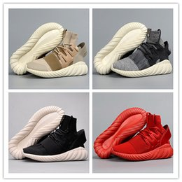 Wholesale Special Shoes Men - Hot Sale Mesh Triple Black Tubular Doom PK Special Forces Shoes Men Tubular Radial Running Shoes Sports Sneakers Size US7--11