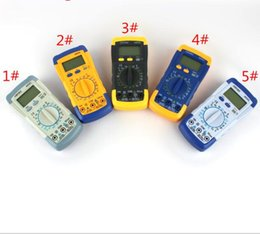 Argentina Medidor eléctrico LCD Digital amperímetro amperímetro voltímetro ohmímetro AC / DC voltio amp ohmímetro Mini bolsillo portátil multitester Suministro