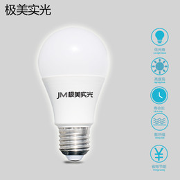 Wholesale Energy Saving Bulb Wholesalers - express free 5pieces Package LED Bulbs E27 Globe Bulbs A60 Lights 4W~18W Doingrun LED Bulbs Warm Cold White Super Bright Energy-saving Lamp