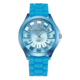 Wholesale Green Chrysanthemums - High Quality Watch Wholesale 13 Colors Chrysanthemum Dial Silicone Strap Watch Casual Wristwatch For Men Women Teenagers