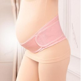 Wholesale Maternity Support Band Wholesale - Pregnant Postpartum Corset Belly Belt Maternity Pregnancy Support Belly Band Prenatal Care Athletic Bandage KKA2699