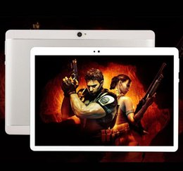Wholesale Tablet Pc Capacitive 32gb - sell 1 High quality Octa Core 10 inch MTK6582 IPS capacitive touch screen dual sim 3G tablet phone pc android 6.0 2gb 32 gb or 4GB 64GB