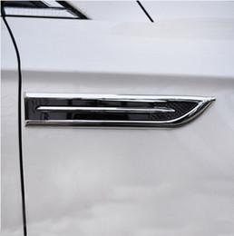 Wholesale Chrome S Badge - New style! 2pcs set ABS Chrome trim Badge decoration sport For Focus 2 Focus 3 Fiesta Mondeo Ecosport Hyundai IX35 IX45