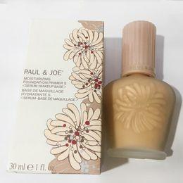 Wholesale Refresh Liquid - Brand enamel paul&joe pj refreshing Faced foundation liquid Luminous Primer 30ml 30ML