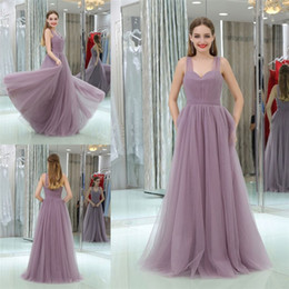 Wholesale Womens Celebrity Formal Dresses - Beauty Dress Evening Wear Womens Formal Gown Sweetheart Sleeveless Floor Length Prom Gowns Pleats Tulle Backless Celebrity Party Dresses