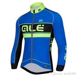 Wholesale Factory specializing in the production of men s long sleeve cycling jerseys Outdoor ride bike suit Drying air is prevented bask in spee