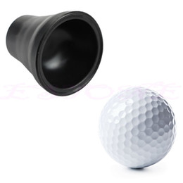 Wholesale Golf Retriever - Wholesale- Golf Tee Ball Pick Up Suction Cup Picker For Caddy Sucker Retriever Putter Grip