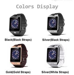 телефоны с несколькими sim картами Скидка 2017 новый смарт-часы dz09 с камерой Bluetooth наручные часы SIM-карты Smartwatch для Ios Android телефоны поддержка нескольких языков Розничный пакет